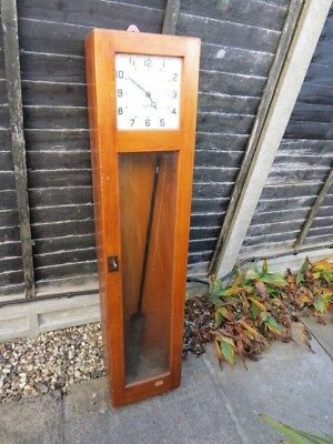 Vintage Gents Pulsynetic Master Clock For Tlc