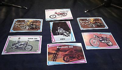 Motorcycle Trading Cards - Group C - QTY: 7