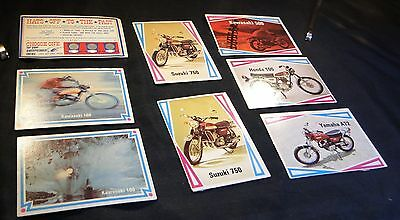 Motorcycle Trading Cards - Group A - QTY: 8