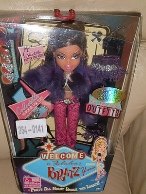 Bratz Doll - Welcome To Fabulous Bratz Yasmin - New/bnib Rare/htf