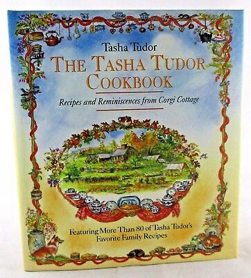 The Tasha Tudor Cookbook Recipes from Corgi Cottage 1st Edition VERY NICE!