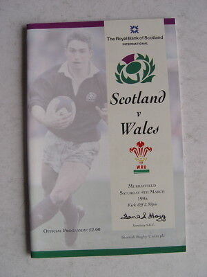 Scotland v Wales 1995 Rugby