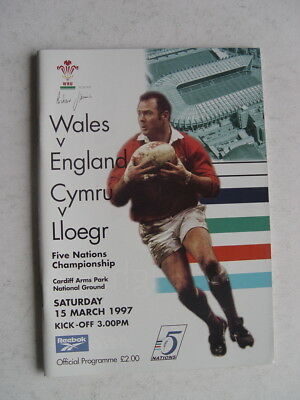 Wales v England 1997 Rugby