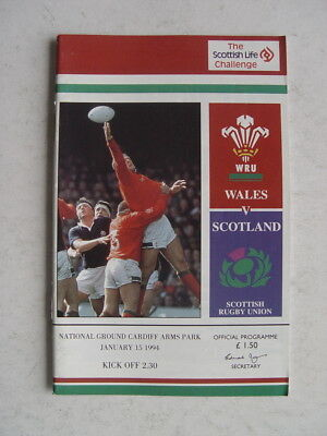 Wales v Scotland 1994 Rugby