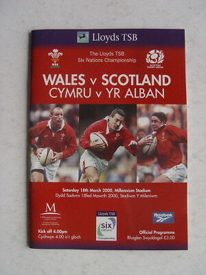 Wales v Scotland 2000 Rugby