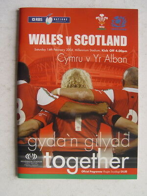 Wales v Scotland 2004 Rugby