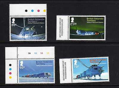 British Antarctic Territory 2013 Halley Base Set  Fine Um/mnh