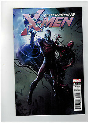 ASTONISHING X-MEN #3  Venomized Villains Variant            / 2017 Marvel Comics