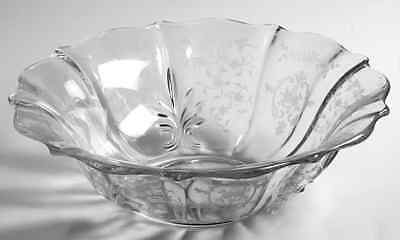 Fostoria NAVARRE CLEAR Baroque Flared Bowl 6745650