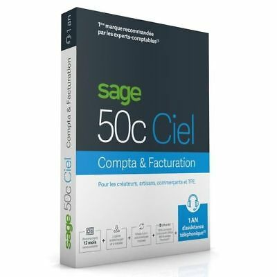 SAGE - 50c COMPTA+FACTURATION - 30 jours NEUF