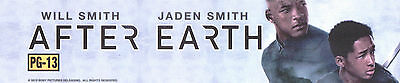 AFTER EARTH Movie Theater Mylar Home Game Teen Room Man Cave WILL JADEN SMITH