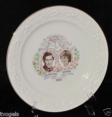 Vintage China Canada Commemorate Prince Charles Lady Diana Wedding Plate