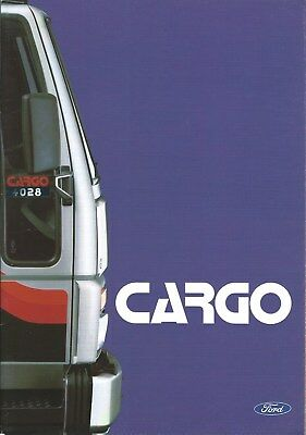 Truck Brochure - Ford - Cargo - c1988 - FRENCH language (T2192)