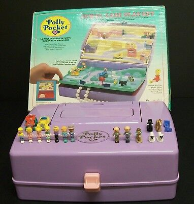 Vintage Polly Pocket - Jewel Case, 100% Complete, Gates Intact.