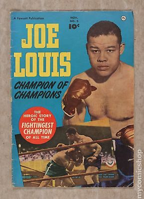 Joe Louis (1950) #2 GD/VG 3.0