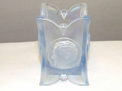 Carnival Iridescent Bicentennial Joe St Clair Glass Toothpick Holder#12 Free Shp