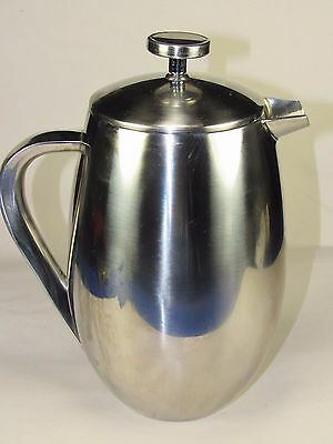 Cuisinox Stainless Steel,Double Wall Coffee Press-Diffuser Expresso Pitcher 32oz