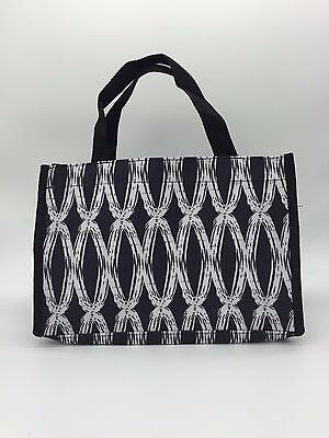 New All in one thirty one Mini tote hand bag organizer in black links 31 gift