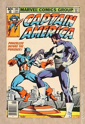 Captain America (1968 1st Series) #241 VF- 7.5