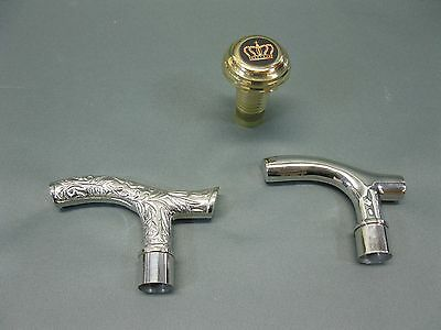 Spare Part Replacement Handle Set for cane walking stick walking stick handle
