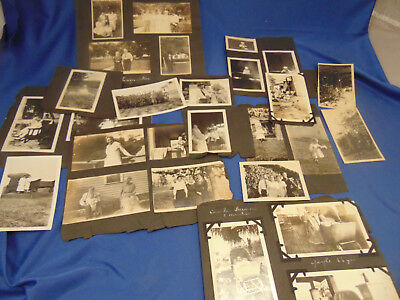 Antique old black white photographs 41 early 20th century people snapshots art