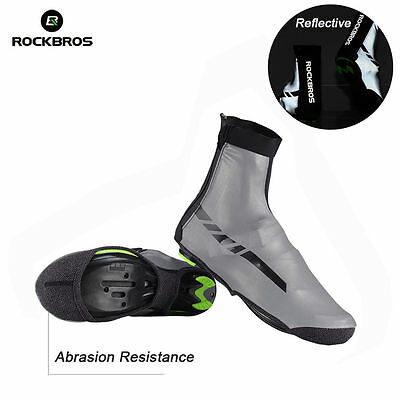 RockBros Cycling Shoes Cover Bike Warm Overshoes Waterproof