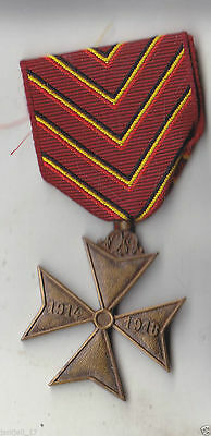 Ww I Belgian Cross For The Deported