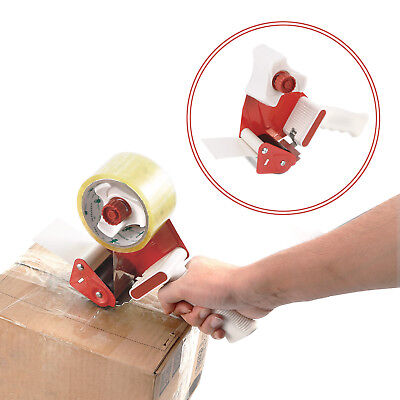"NEW Heavy Duty Metal Parcel Packaging Tape 50""mm Gun Dispenser with Handle"