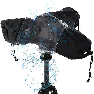 Universal Coat Dust Rain Cover Waterproof Rainproof for Camera CANON NIKON D-SLR
