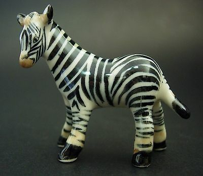 Ceramic ZEBRA Curio Display Ornament China Porcelain Animal African Savannah