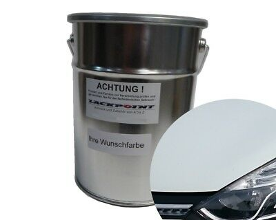 3 Litre Water Based spray-ready Renault 389 Arctic White Car Paint Tuning NEW