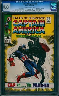 Tales of Suspense # 98  Cap vs...the Panther !  CGC 9.0  scarce book !