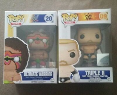 Funko Pop! WWE Ultimate Warrior & Triple H