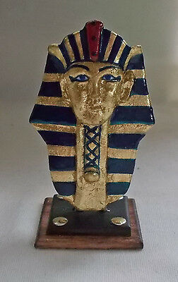 Dolls house miniature Museum / History ARTISAN EGYPTIAN KING TUT MASK