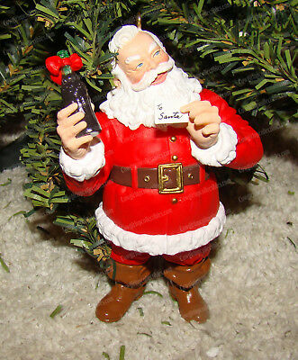 Welcome Guest, Coca-Cola Santa (Hallmark Keepsake, QX5394) 1994 Coke Ornament