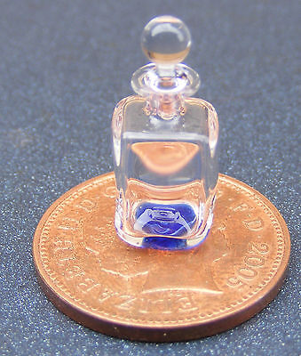 1:12 Small Square Glass Decanter Dolls House Miniature Drink Accessory GDSqs