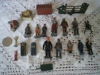 Various Vintage Hornby/hornby Type Lead Figures And Others