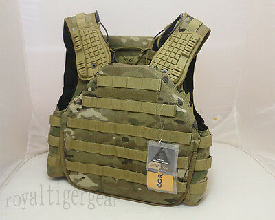 FLYYE Armor Chassis MOLLE Vest Plate Carrier - Crye Precision CORDURA Multicam