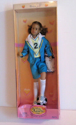 New in Box Only Hearts Club Doll Briana Joy in Soccer / Football Outfit