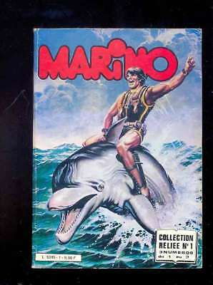 MARINO collection reliée n°1 (n°s 1 à 3) Editions Impéria 1983
