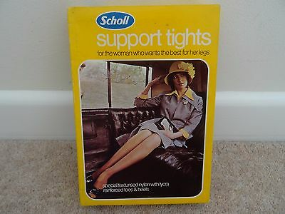 vintage scholl support tights