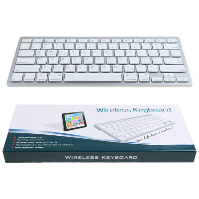 Teclado Inalambrico Bluetooth Sin Cable para iPad iPhone Android Mac Windows
