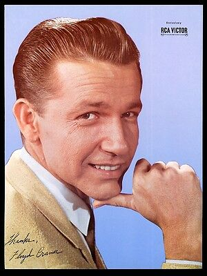 1966 Floyd Cramer color photo RCA Victor Records vintage trade ad