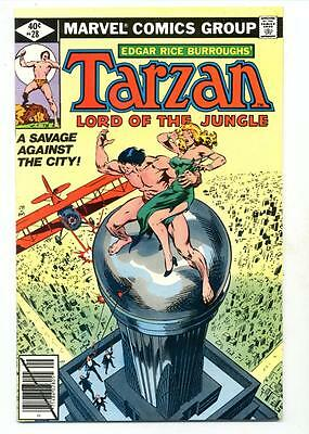 Tarzan #28    A Savage Against the City