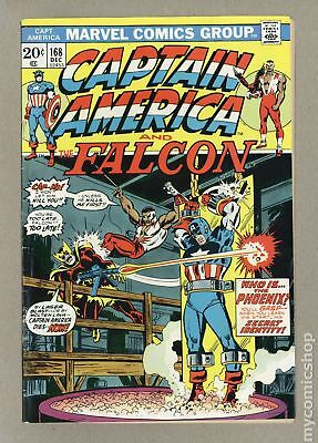 Captain America (1968 1st Series) #168 GD/VG 3.0