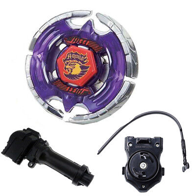Metal Fusion Fight Beyblade BB47 Earth Eagle (Aquila) + Power Launcher + Handle