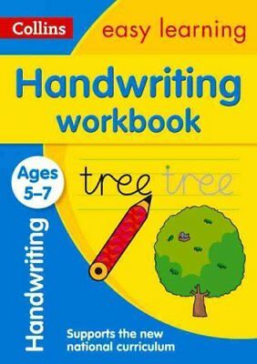 Handwriting Workbook Ages 5-7 by Collins Easy Learning 9780008151461