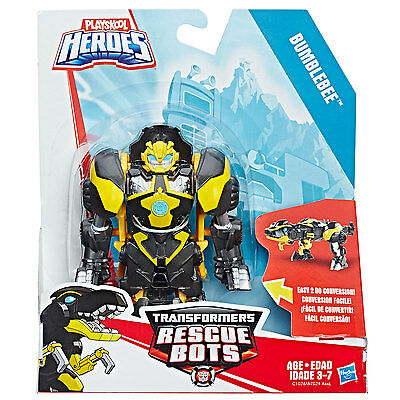 Playskool Heroes Transformers Rescue Bots - Bumblebee to Raptor Figure