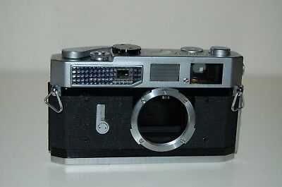 Canon-7 Vintage Japanese Rangefinder Camera. Serviced. 919083. UK Sale