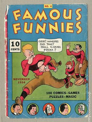 Famous Funnies (1934) 4 Cover Only